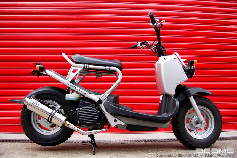 BEAMS 【 HONDA > ズーマー(キャブ)AF58 】 バイクマフラー ...